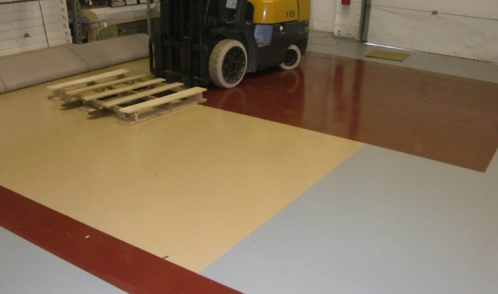 Epoxy flooring industrial